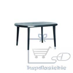 Plastikowy stół owalny ELISE - kolor grafit (8711245131085)