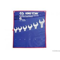 King tony Zestaw kluczy płasko-oczkowych 6cz. 34 - 50mm 1296mrn (4712755630772)