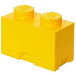POJEMNIK LEGO 2 ŻÓŁTY - LEGO POJEMNIKI, 0249