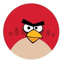 Dekoracyjny opłatek tortowy angry birds - 20 cm - 8 marki Modew
