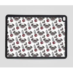 Etui na iPad Air 2: Mops i piła mechaniczna, towar z kategorii: Pokrowce i etui na tablety