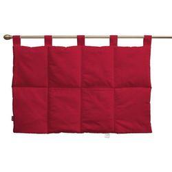 Dekoria  wezgłowie na szelkach, scarlet red (czerwony), 90 x 67 cm, cotton panama