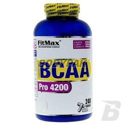 Fitmax BCAA Pro 4200 - 240 tabl - produkt z kategorii- Odżywki zwiększające masę