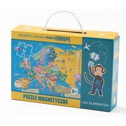Maka kids Puzzle magnetyczne poznaje europę