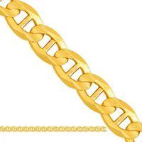 Złoty łańcuszek pełny gucci lp044 od producenta Nie
