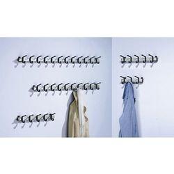 Van esch Listwa na garderobę, aluminium, obciążenie wieszaków: 90 kg, 10 wieszaków, szer.