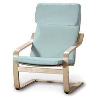 Dekoria Poduszka na fotel Poäng, pastelowy błękit, Fotel Poäng, Cotton Panama
