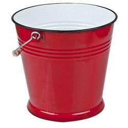 wiadro emaliowane 10 l czerwone marki Elopol