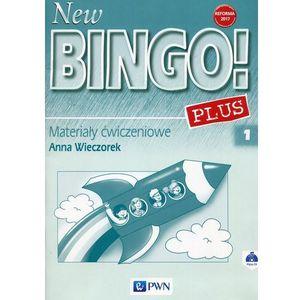 New Bingo! 1 Plus Reforma 2017 Materiały ćwiczeniowe z płytą CD (64 str.)