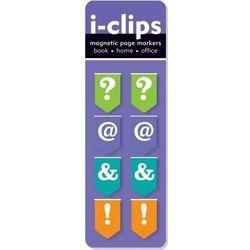 Zakładka magnetyczna Peter Pauper i-clips Interpunkcja - 8 szt, towar z kategorii: Zakładki do książek