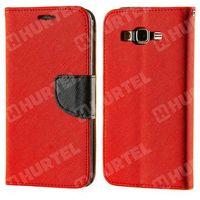 Kabura pokrowiec Fancy Series LG G4c czerwony - Czerwony (Futerał telefoniczny)