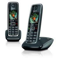 Siemens Telefon domowy  c530 ip (s30852-h2506-r601) czarny