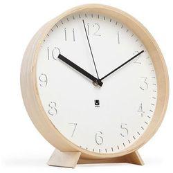 Zegar ścienny | stojący Umbra Rimwood natural 25 cm