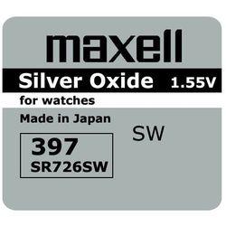 bateria srebrowa mini Maxell 396 / 397 / SR 726 SW / G2 - sprawdź w wybranym sklepie