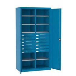 Szafa warsztatowa metalowa 10 półek 12 szuflad SL 162.18 MALOW