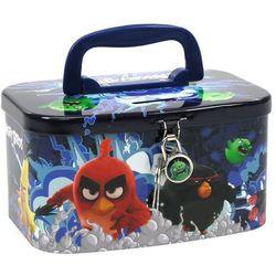Derform, Angry Birds, skarbonka-kuferek z kłódką - sprawdź w Smyk