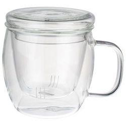 GIARDINO HOME Kubek szklany 450 ml z zaparzaczem