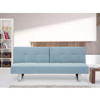 Rozkładana sofa ruchome oparcie - DUBLIN miętowy (7081453705141)