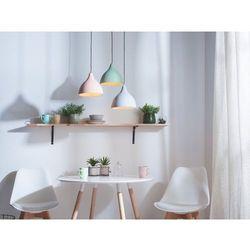 Beliani Lampa wisząca szara lambro