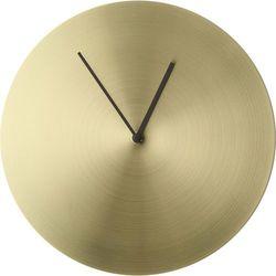 Zegar ścienny Norm Metal szczotkowany mosiądz