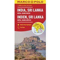 MARCO POLO Kontinentalkarte Indien, Nepal 1:2 500 000