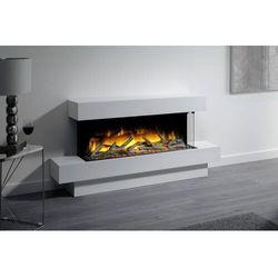Flamerite fires - nowość 2021 Kominek wolnostojący flamerite fires iona 1000 fs z półką. efekt płomienia radia flame led - promocja