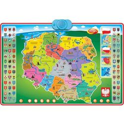 Dumel Discovery, interaktywna mapa Polski (maskotka interaktywna) od Smyk