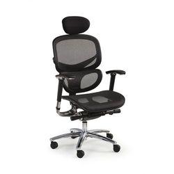 PRESIDENT fotel gabinetowy czarny