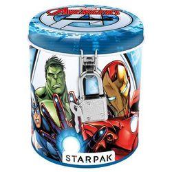 Starpak, The Avengers, skarbonka metalowa, okrągła