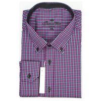 Thomaswaxx Koszula fioletowa w paski
