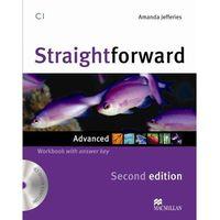 Straightforward Advanced, Second Edition, Workbook (zeszyt ćwiczeń) with Key and Audio CD, oprawa miękka