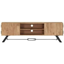 Vidaxl szafka pod tv, 140x30x45 cm, lite drewno akacjowe
