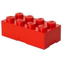 POJEMNIK LEGO 8 CZERWONY - LEGO POJEMNIKI
