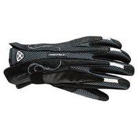 Rękawice motocyklowe letnie tekstylne IXON RS GLOSS kolor czarny-szarny