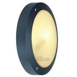 Spotline - slv Zewnętrzna lampa ścienna bulan 229075 spotline sufitowa oprawa ogrodowa ip44 outdoor okrągła antracyt