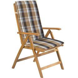 poduszka na krzesło fdzn 9106 kremowa/paski od producenta Fieldmann