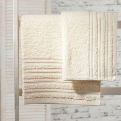 Dekoria  ręcznik aveiro ecru, 70x140cm