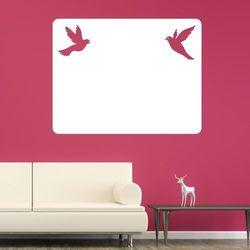 Wally - piękno dekoracji Tablica suchościeralna gołębie 155