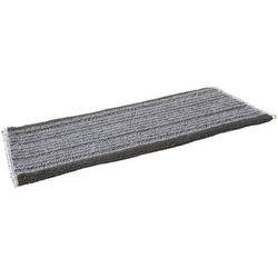 Mop DampDry 31, do czyszczenia na sucho lub wilgotno, na rzepy, szary, 400 mm, VIKAN 547640