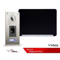 Zestaw Wideodomofonu Vidos stacja bramowa z czytnikiem linii papilarnych monitor 7'' S561Z_M690BS2