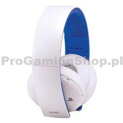 Sony PlayStation Gold Bezprzewodowe słuchawki stereo do PS4, PS3 & PS Vita, white