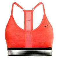 Nike Performance INDY COOLING Biustonosz sportowy max orange/black