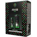 Axe zestaw prezentowy africa (dezodorant spray 150ml+ żel pod prysznic 250ml) marki Unilever