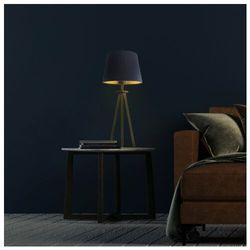 Lysne Nowoczesna lampka na stolik do salonu bergen gold