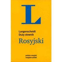 Duży słownik polsko-rosyjski, rosyjsko-polski (rok 2014), oprawa miękka