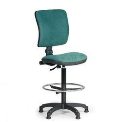 Podwyższone krzesło biurowe MILANO II - zielone