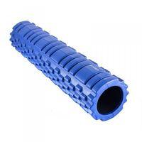 Hms Wałek foam roller fitness  61cm crossfit niebieski (5907695502640)