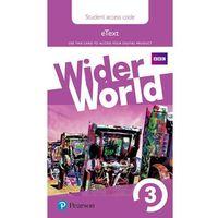 Wider World 3 eBook Students´ Access Card neuveden (9781292106823)