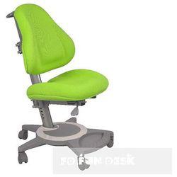 Fotel ortopedyczny - FunDesk BRAVO GREEN - Krzesełko z regulacją wysokości