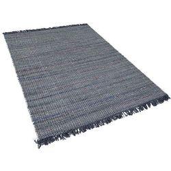 Dywan szary bawełniany 160x230 cm BESNI
